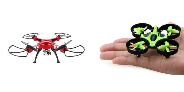 Что подарить брату на 23 Февраля: дрон
