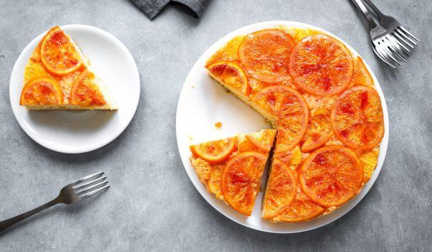 Пирог с мандаринами. Самая ароматная зимняя выпечка