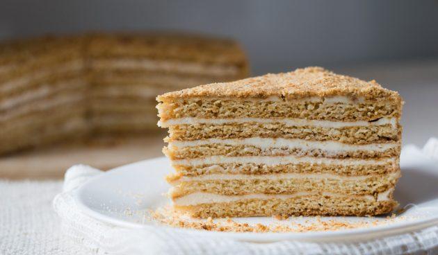 ПП-медовик. Диетический торт, который можно есть на ночь