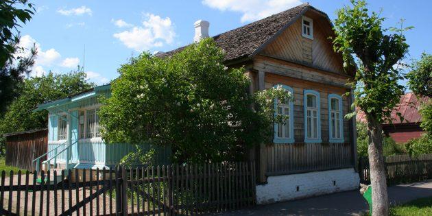 Дом, в котором в школьные годы жил Гагарин