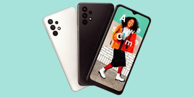 Новые смартфоны: Samsung Galaxy A32