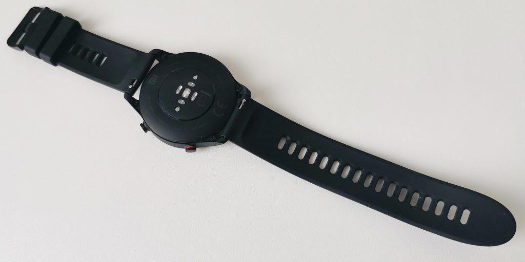 Xiaomi Mi Watch: датчики сзади