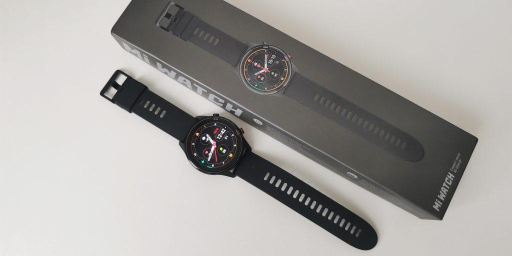 Xiaomi Mi Watch: упаковка