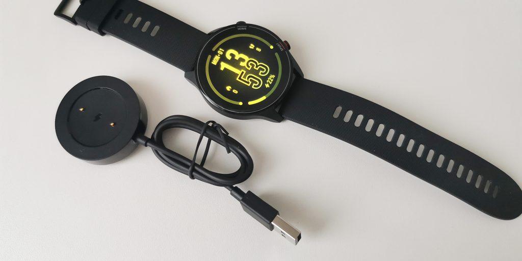 Xiaomi Mi Watch: зарядка