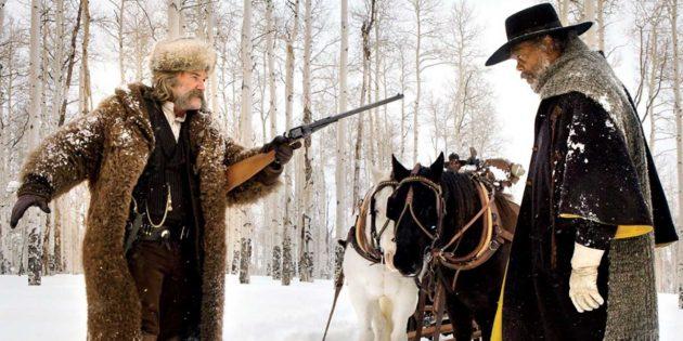Фильмы про зиму: «Омерзительная восьмёрка»