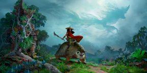 Disney показала большой трейлер мультфильма «Райя и последний дракон»