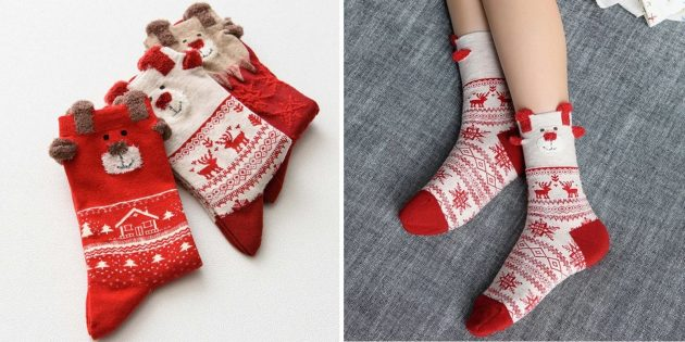 Тёплые носки