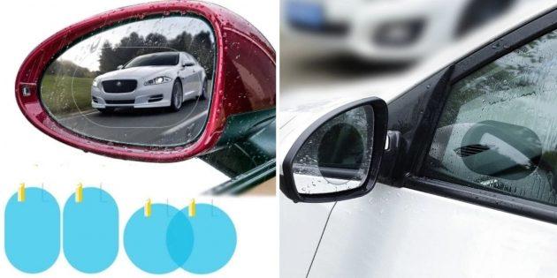 Аксессуары для автомобиля: водоотталкивающая наклейка