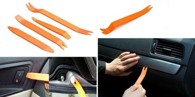 Аксессуары для машины: набор инструментов