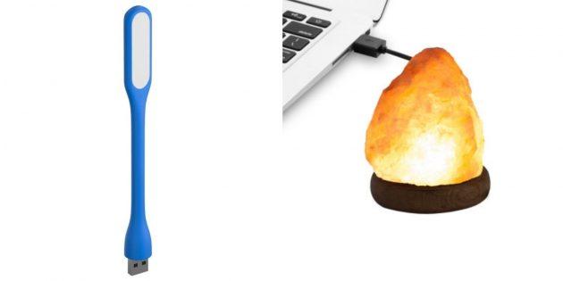 Подарки классу на 23Февраля: USB-лампа