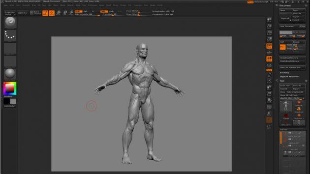 Программы для 3D-моделирования: ZBrush