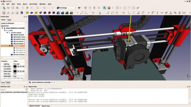 Программы для 3D-моделирования: FreeCAD