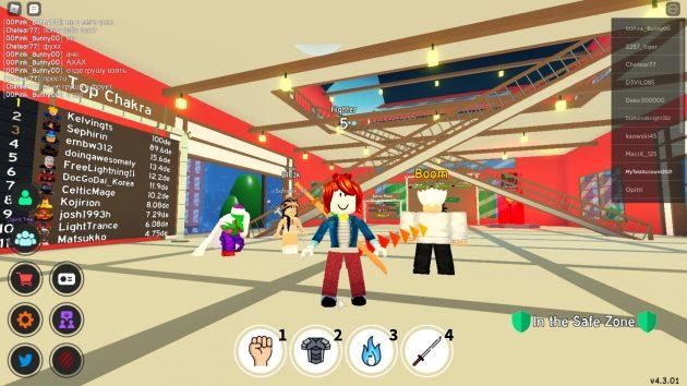 Anime Fighting Simulator в Roblox