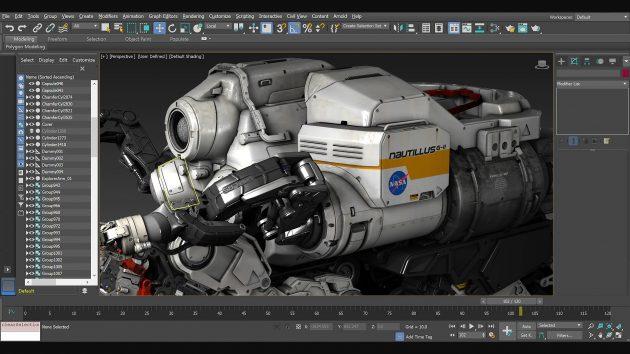 Программы для 3D-моделирования: Autodesk 3ds Max