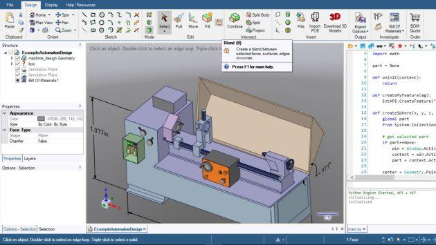 Программы для 3D-моделирования: DesignSpark Mechanical