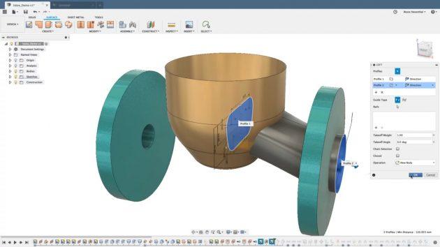 Программы для 3D-моделирования: Autodesk Fusion 360