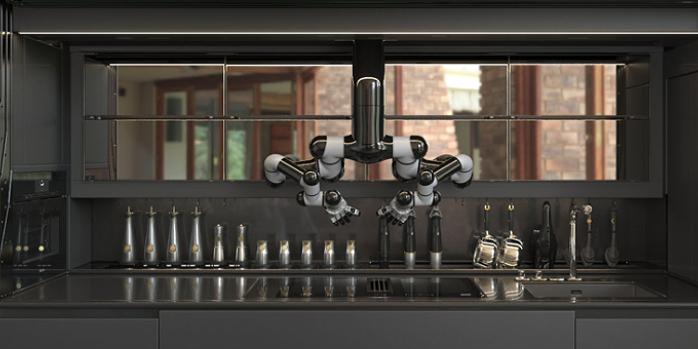 Штука дня: кухонный рробот Moley Robotics