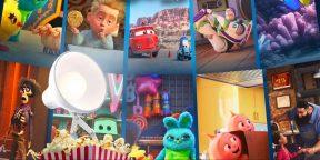 Disney выпустила трейлер сборника короткометражек по мультфильмам Pixar