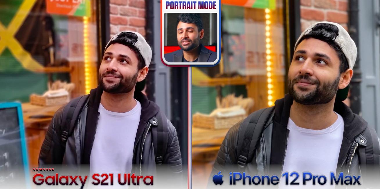 Сравнение камер Galaxy S21 Ultra и iPhone 12 Pro Max