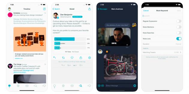 В App Store вышел Tweetbot 6 с новым дизайном и бесплатной версией