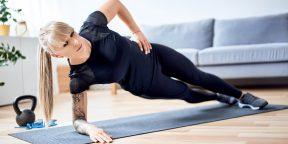 Тренировка дня: 4 упражнения прокачают все мышцы корпуса