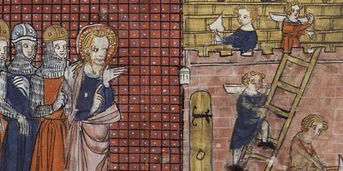 Святой Валентин Тернийский и его ученики, Франция, Париж, XIV век