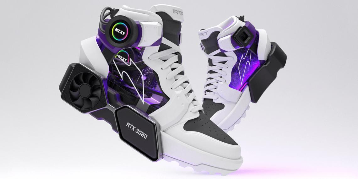 Представлены кроссовки с видеокартой в подошве