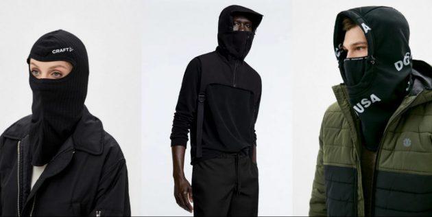 Новый милитари-стиль варкор: балаклавы
