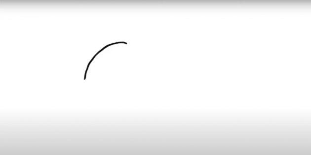 Как нарисовать белку: начните с дуги
