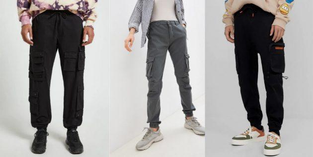 Новый милитари-стиль варкор: брюки карго