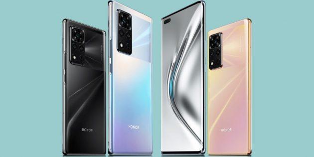 Новые смартфоны: Honor V40