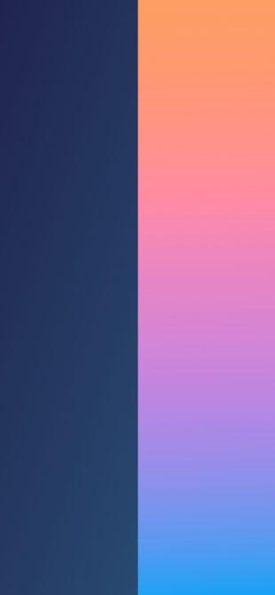 Подборка: двухцветные обои для iPhone