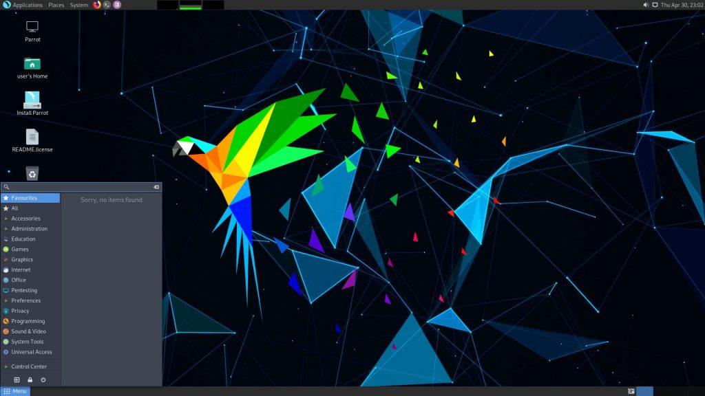 Дистрибутив Linux: Parrot Security