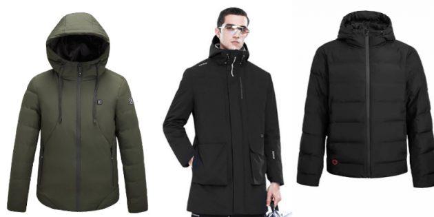 Теквир: куртки с подогревом