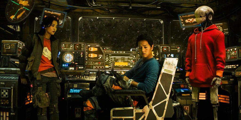 Netflix выпустил трейлер корейской фантастики «Космические чистильщики»