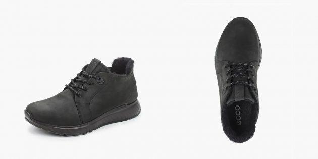 Лаконичные зимние кроссовки