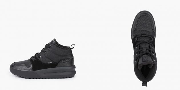 Зимние кроссовки в стиле casual