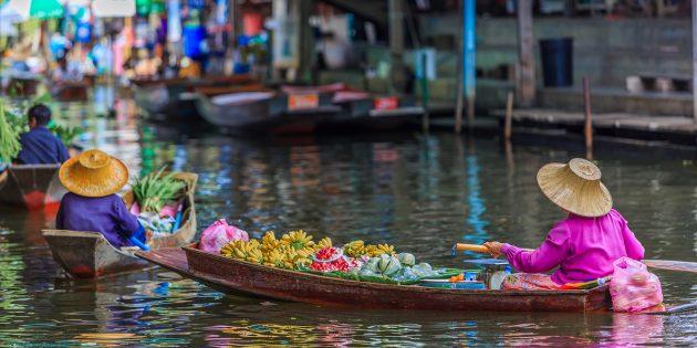 Отдых в Таиланде: тайский рынок