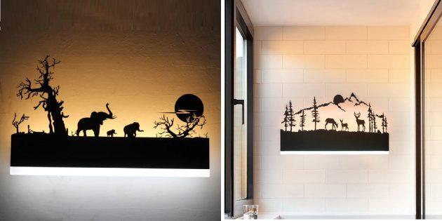 Распродажа AliExpress: декоративный настенный светильник