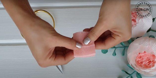 Подарки на 8 Марта своими руками: вырежьте прямоугольник и сложите его