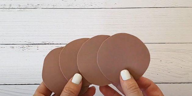 Поделки из фоамирана своими руками: сделайте круги