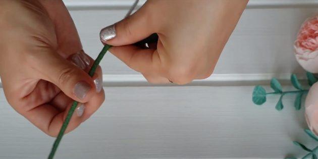 Подарки на 8 Марта своими руками: сделайте стебель