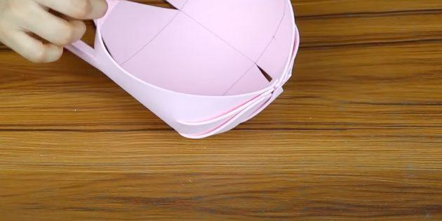 Поделки из фоамирана своими руками: соберите бок корзины