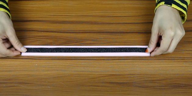 Поделки из фоамирана своими руками: склейте полоски