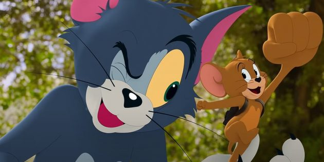 Кадр из фильма «Том и Джерри»