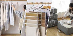 10 товаров с AliExpress для хранения зимней одежды, обуви и аксессуаров