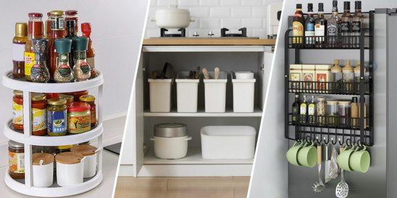 10 товаров с AliExpress, которые помогут навести порядок на кухне