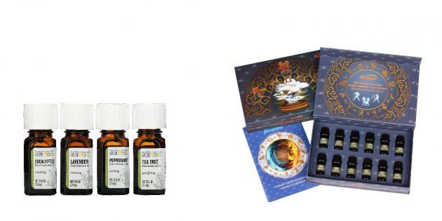 Подарки женщине на 8Марта: натуральное эфирное масло