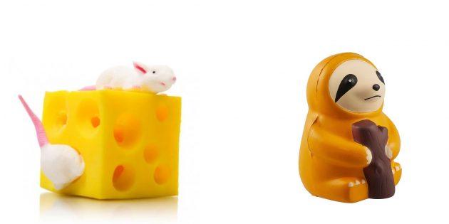 Подарки женщине на 8Марта: игрушка-антистресс
