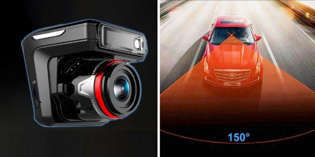 Многофункциональные устройства: автомобильный видеорегистратор, радар-детектор